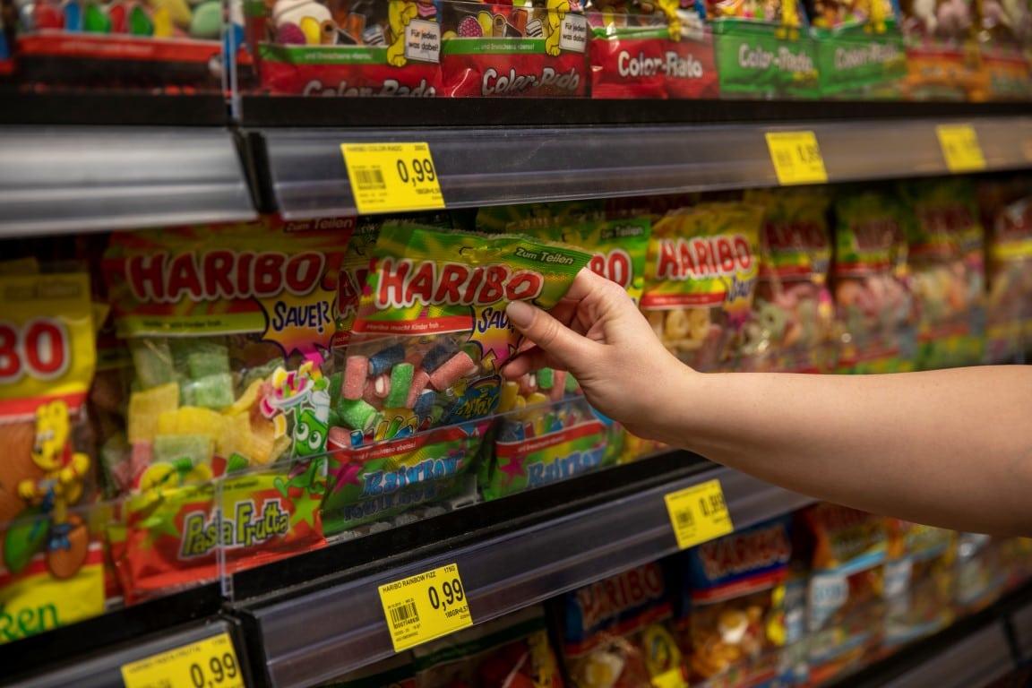 Regaloptimierung Bereich Süßware