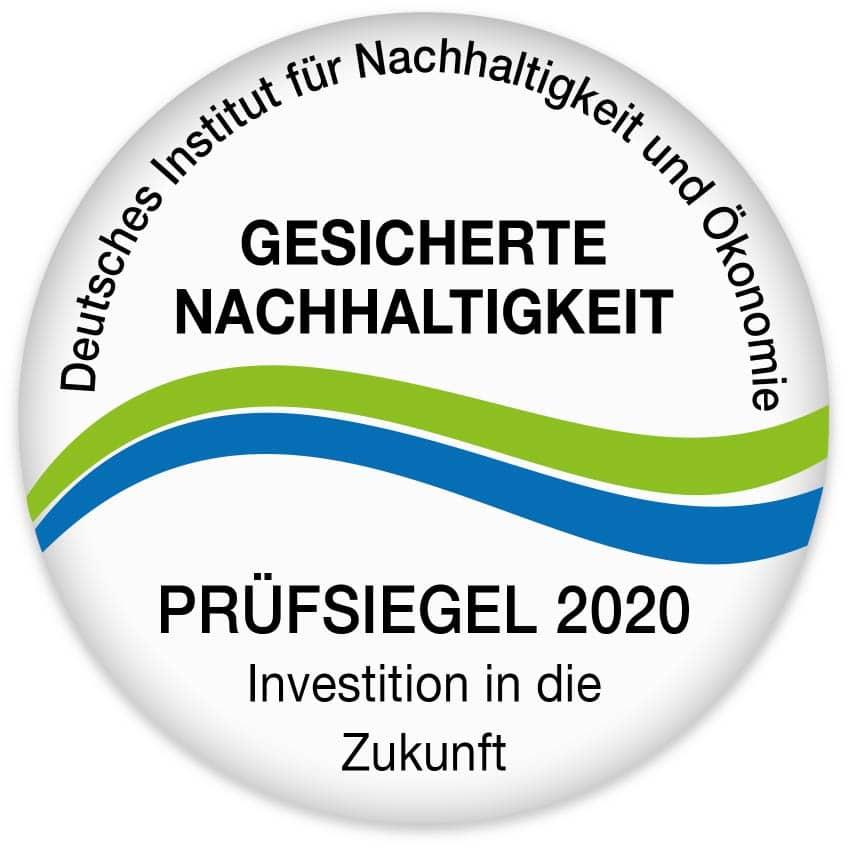 Siegel Nachhaltigkeit